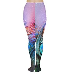 Lizard Reptile Art Abstract Animal Women s Tights by Celenk