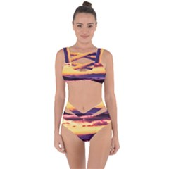 Great Smoky Mountains National Park Bandaged Up Bikini Set  by Celenk
