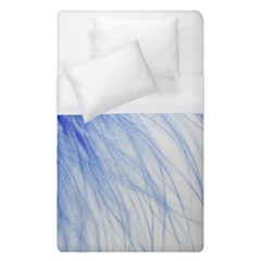 Spring Blue Colored Duvet Cover (single Size)