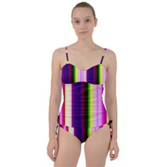 Abstract Background Pattern Textile 2 Sweetheart Tankini Set