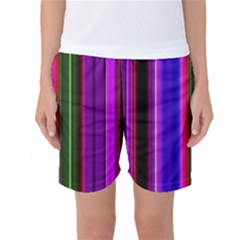 Abstract Background Pattern Textile 4 Women s Basketball Shorts by Celenk