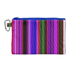 Abstract Background Pattern Textile 4 Canvas Cosmetic Bag (large) by Celenk