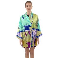 Girlfriend  respect Her   Long Sleeve Kimono Robe by inspyremerevolution