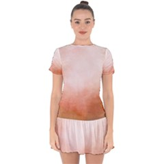 Ombre Drop Hem Mini Chiffon Dress by ValentinaDesign