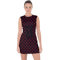 Cool Canada Lace Up Front Bodycon Dress by CanadaSouvenirs