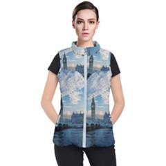 London Westminster Landmark England Women s Puffer Vest by Celenk