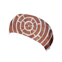 Brick Pattern Texture Backdrop Yoga Headband by Celenk