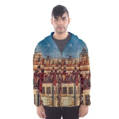 Ruin Abandoned Building Urban Hooded Wind Breaker (men)