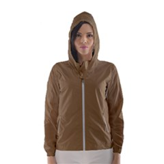 Brownish Hooded Wind Breaker (women)
