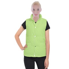 Minty Women s Button Up Puffer Vest