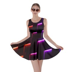 Mode Background Abstract Texture Skater Dress