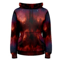 Astronomy Space Galaxy Fog Women s Pullover Hoodie