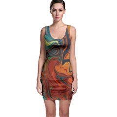 Creativity Abstract Art Bodycon Dress by Nexatart