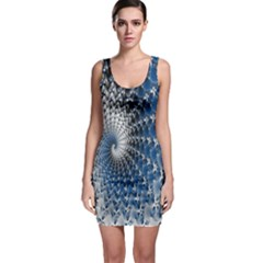 Mandelbrot Fractal Abstract Ice Bodycon Dress by Nexatart