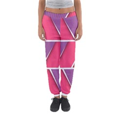 Abstract Background Colorful Women s Jogger Sweatpants by Nexatart
