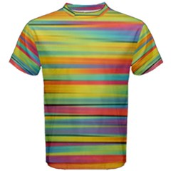 Colorful Background Men s Cotton Tee