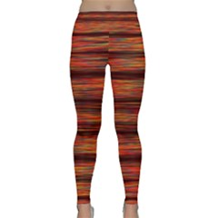 Colorful Abstract Background Strands Classic Yoga Leggings by Nexatart