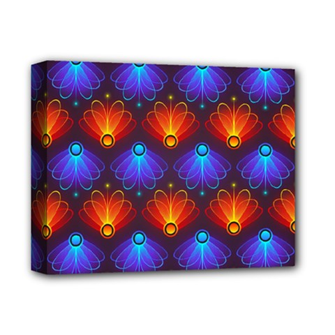 Background Colorful Abstract Deluxe Canvas 14  X 11  by Nexatart