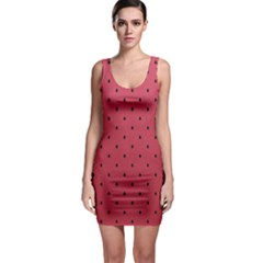 Watermelon Minimal Pattern Bodycon Dress by jumpercat