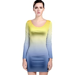 Sun Goes Down Long Sleeve Bodycon Dress by jumpercat
