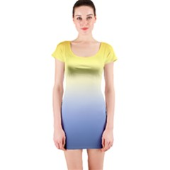 Sun Goes Down Short Sleeve Bodycon Dress by jumpercat