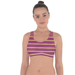 Color Line 5 Cross String Back Sports Bra by jumpercat