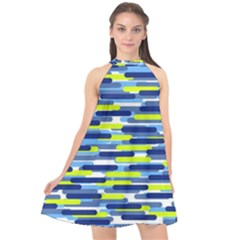 Fast Capsules 5 Halter Neckline Chiffon Dress  by jumpercat