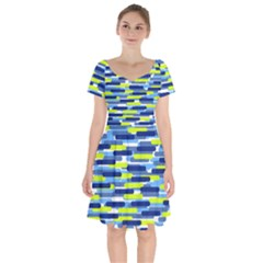Fast Capsules 5 Short Sleeve Bardot Dress