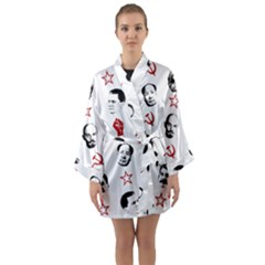 Communist Leaders Long Sleeve Kimono Robe by Valentinaart
