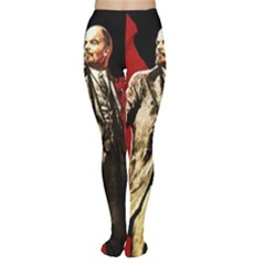 Lenin  Women s Tights by Valentinaart