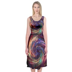 Cassiopeia Supernova Cassiopeia Midi Sleeveless Dress
