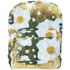 Summer Anemone Sylvestris Full Print Backpack by Nexatart