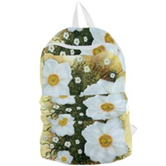 Summer Anemone Sylvestris Foldable Lightweight Backpack by Nexatart
