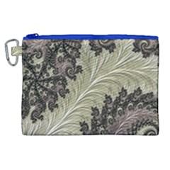 Pattern Decoration Retro Canvas Cosmetic Bag (xl)