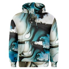 Abstract Painting Background Modern Men s Pullover Hoodie
