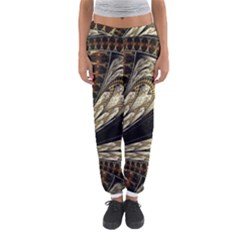 Fractal Abstract Pattern Spiritual Women s Jogger Sweatpants