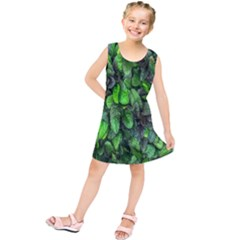 The Leaves Plants Hwalyeob Nature Kids  Tunic Dress by Nexatart
