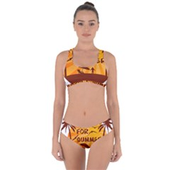 Ready For Summer Criss Cross Bikini Set by Melcu
