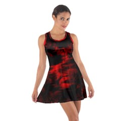 Anxiety Cotton Racerback Dress by vwdigitalpainting