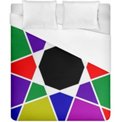 Compass Abstract Duvet Cover (california King Size) by vwdigitalpainting