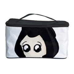 Cute Grim Reaper Cosmetic Storage Case by Valentinaart