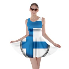 Finland Country Flag Countries Skater Dress