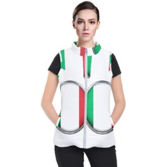 Italy Country Nation Flag Women s Puffer Vest by Nexatart
