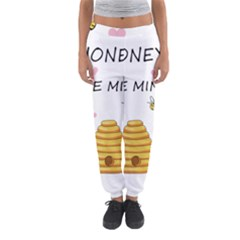 Bee Mine Valentines Day Women s Jogger Sweatpants
