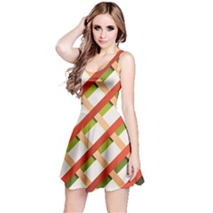 Wallpaper Creative Design Reversible Sleeveless Dress