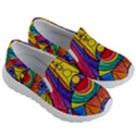 Arcturian Insight Grid - Kid s Lightweight Slip Ons View3