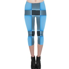 Wall Blue Steel Light Creative Capri Leggings