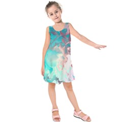 Background Art Abstract Watercolor Kids  Sleeveless Dress