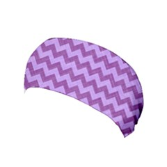 Background Fabric Violet Yoga Headband