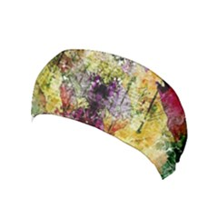 Background Art Abstract Watercolor Yoga Headband